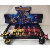 "TRAN5 - Asst. 5"" Die Cast Transformers in Display Box (12pcs @ $2.50/pc)"