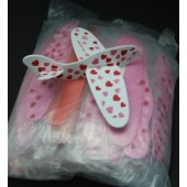 "VALGLID  7"" Heart Style Gliders (48pcs @ $0.20/pc)"