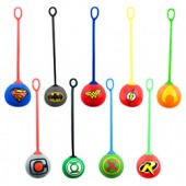 Item# A1WAR65B - DC Comics Stretchy Yo-Yo Balls in Bulk Bag (100 pcs @ $0.35/pc)