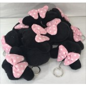 "MINKEY - 4.5"" Plush Minnie Mouse Keychains (12pcs @ $0.95/pc)"