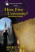 How Free is the University Source Book