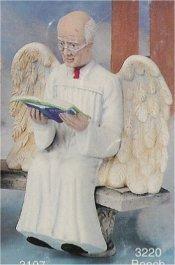 "Grandpa Angel w/book 7.5"""