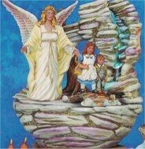 "Guardian Angel Fountain 11""T"