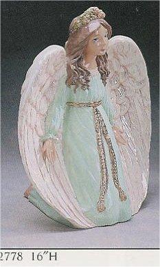 """Kneeling Angel 16"""""""