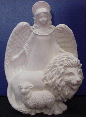 "Gare's Angel w/Lion 12.5""T"