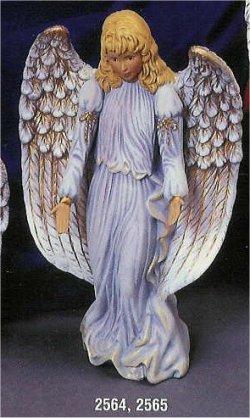 """Med. Kimple Standing Angel 10.5""""T"""