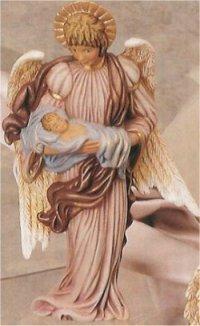 "Angel w/Baby 9.5"""