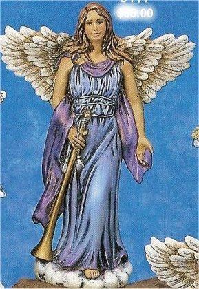 """CPI Angel w/Horn 12""""T"""