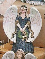 """Gare Angel w Wreath 10""""T"""