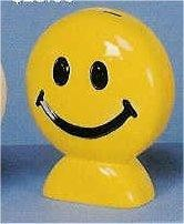 """Happy Face Bank 6.5""""T"""