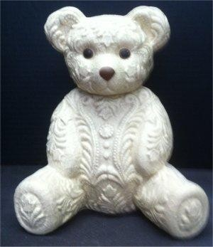 "Lacy Teddy Bear 9""T"