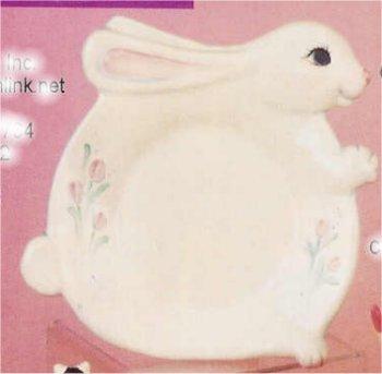 """Rabbit Plate 13"""" L"""