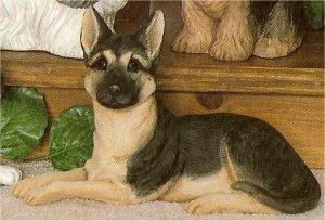 "German Shepherd 5.25""t"