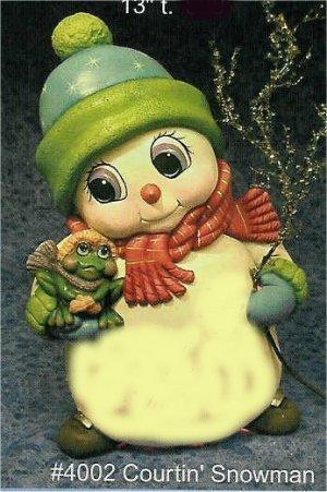 "CPI Courtin"" Snowman 13""t"