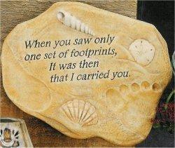 """Lg. Footprints Slab 10""""t"""