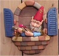 """Window Gnome Fiddle 8.5""""T"""