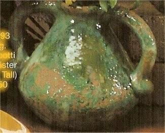 """CPI Two Handled Vase 7.25""""T"""