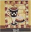 """Cappuccino Tile 6x6"""""""