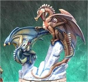 "DH Battle Dragons 14 x 12.5"""