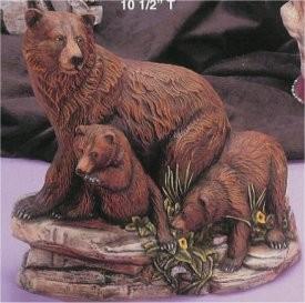 """DH Bear & Cubs 10""""T"""
