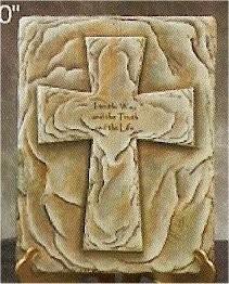 "Bible Box Cross 9.25x12"" Lid Shown"
