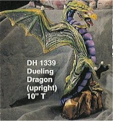 "Dueling Dragon Standing 10""t"