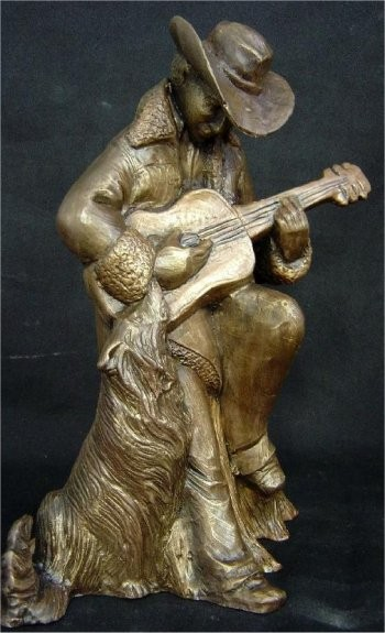 DH Guitar Player 10x8""