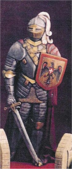 """Knight with Sword 26""""T"""