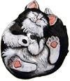 DH Roscoe Cat  Plaque/Stone 9""