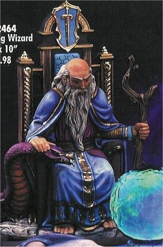 "DH Wizard Sitting 16x10"""