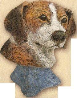 """Beagle Dog Bust 4""""t"""