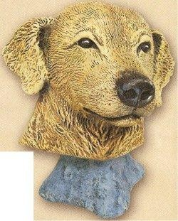 "Golden Retriever Bust 4""t"