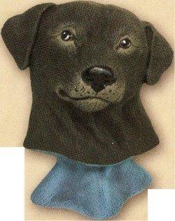"Labrador Bust 3.75""t"