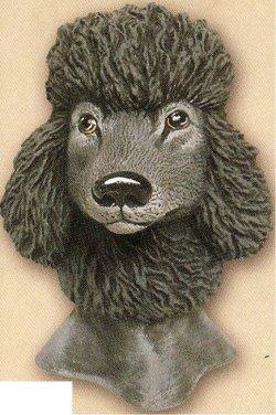 """Poodle Bust 4""""t"""