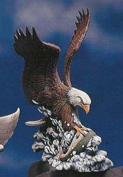 "Fishing Eagle 11""t"