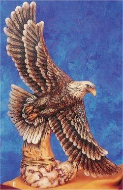 "Eagle in Flight Kimple 14""t"