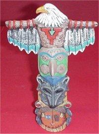 """Eagle Totem 9.5"""""""