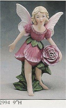 """Rose Fairy 9""""T"""
