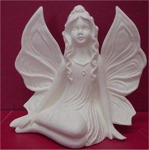 "Side Sitting Fairy 6""t"