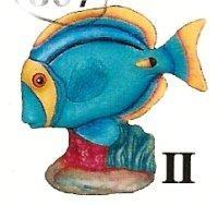 """Tang Fish 6""""t"""
