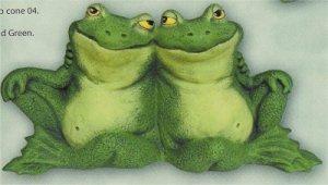 """Frog Couple 8.25"""""""