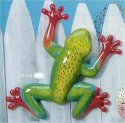"""Med.Wall Climbing Frog 12""""L"""