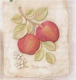 "Apple Plaque 9"""