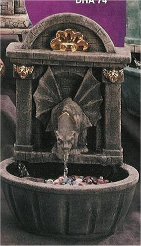 "Gargoyle Fountain 17""T"