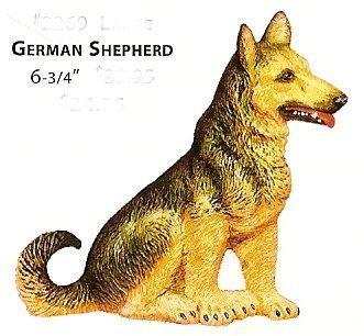 "2269 German Shepherd 6.75""t"