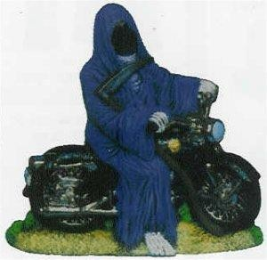 "Grim Reaper on Motorcycle 8""T"