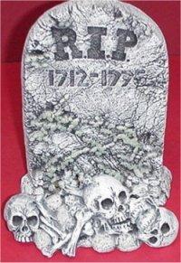 """Tombstone & Skulls 8.5"""""""