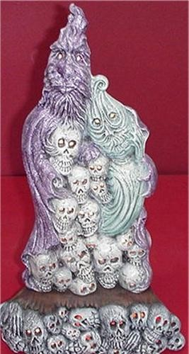 "Ghost Family & Skulls 17""tall"