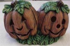 """Dbl. Pumpkins 7.5""""L"""