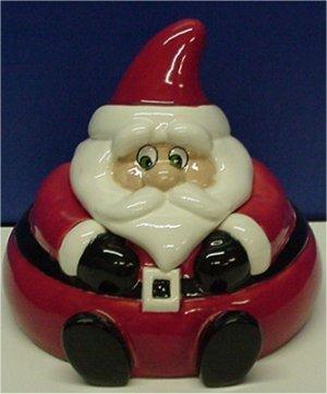 "Santa Candydish 6.5""T"